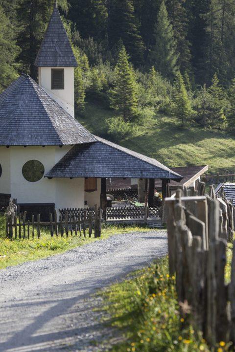 Kapelle bei der Schlicker Alm
