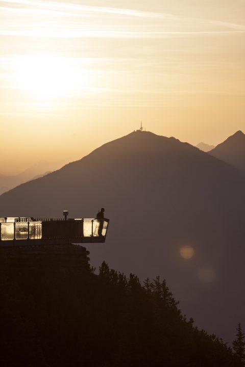 Stubai-Blick zum Patscher Kofel (2.246m)