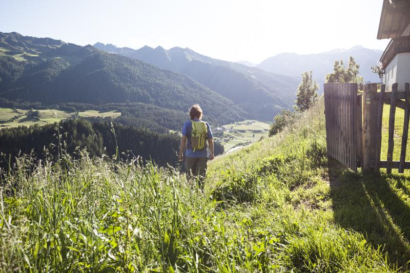Am unteren Ridnauner Höhenweg