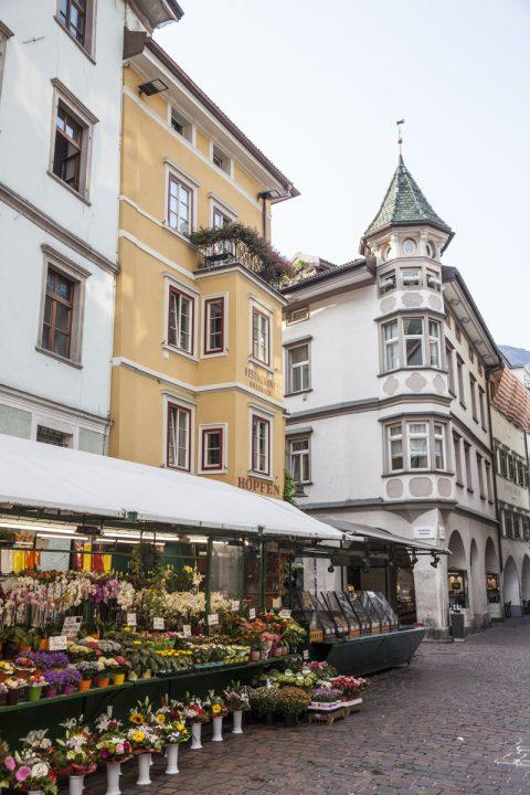Marktgasse in Bozen